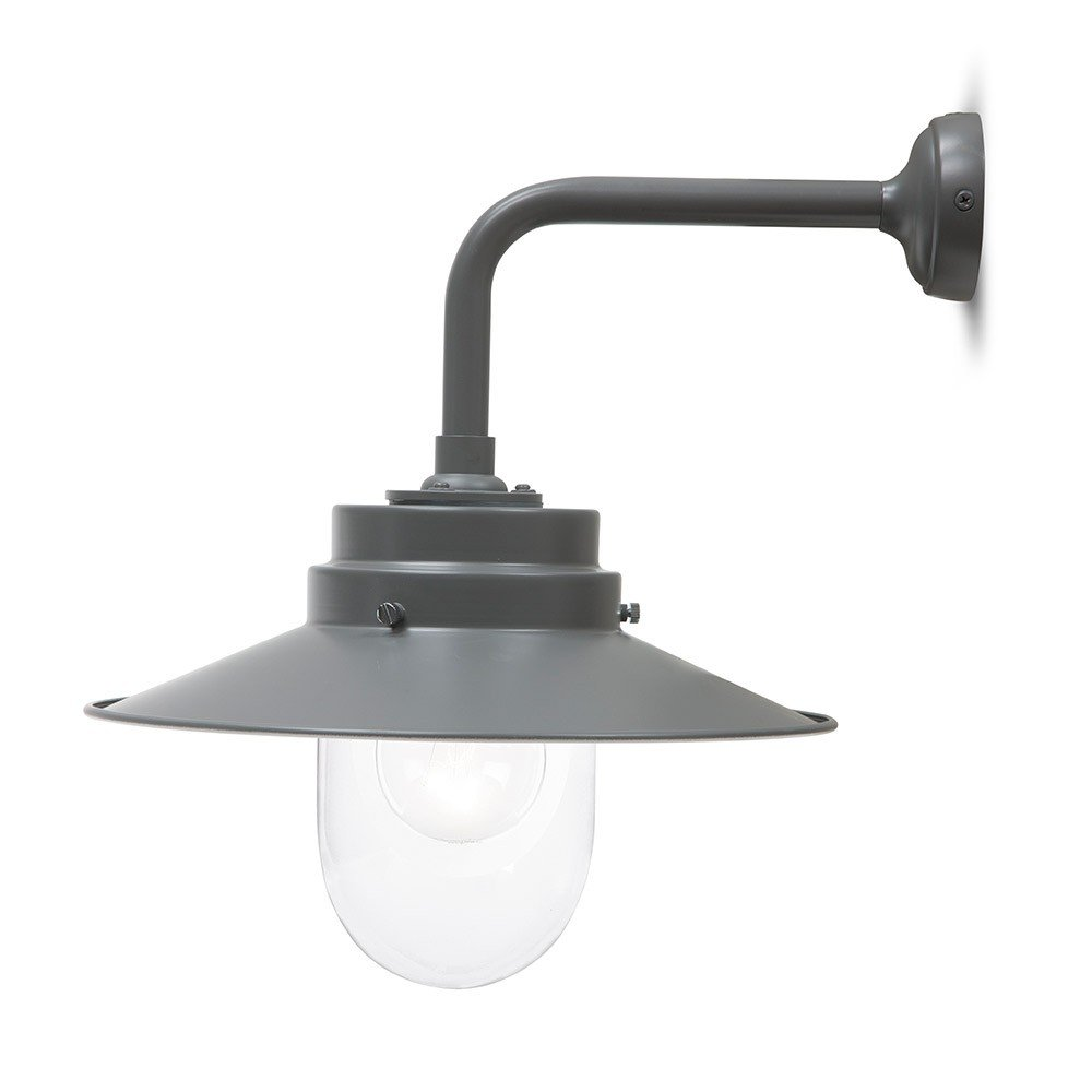 Wall Lamp Hurricane I Light Grey : Garden Trading Belfast Indoor/Outdoor Wall Light/Wall Lamp in Charcoal Grey eBay