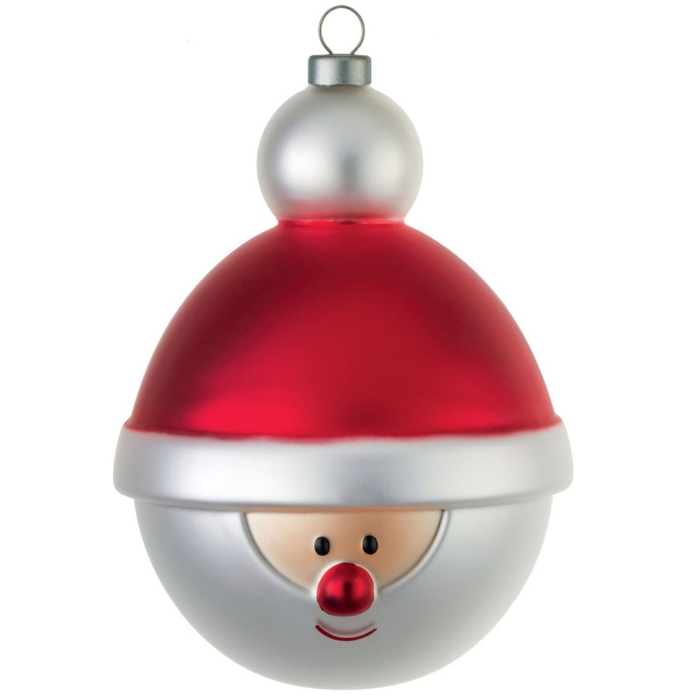 Alessi Santa Clause Christmas Tree Bauble From Black By Design