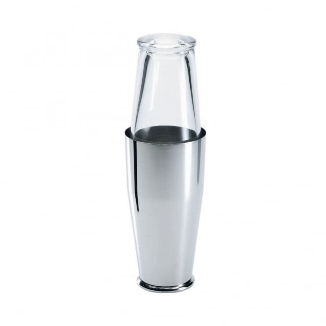 Alessi American 'Boston' Cocktail Shaker in Glass