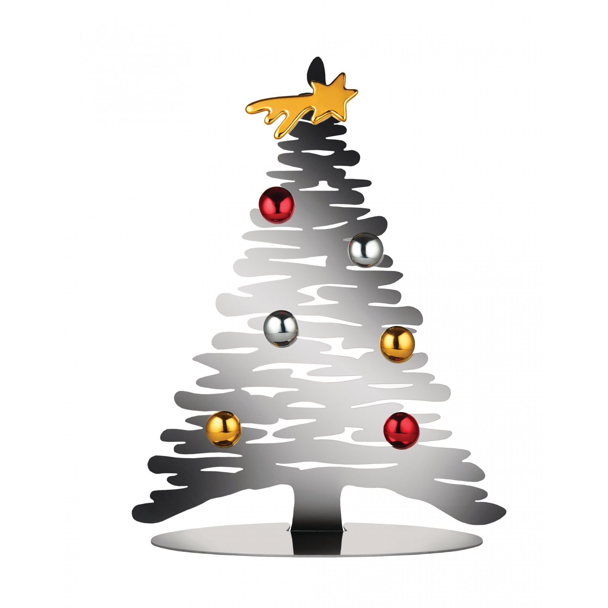 Alessi Bark Christmas Tree Christmas Decorations Black By Design