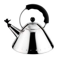 Bird Whistle Hob Kettle - Black
