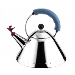 Bird Whistle Hob Kettle - Blue