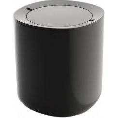 Birillo Bathroom Waste Bin - Dark Grey