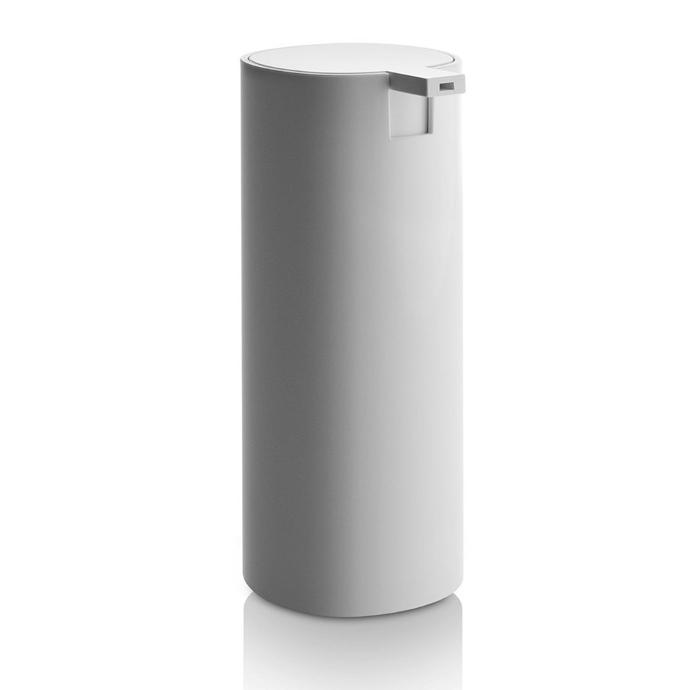 Alessi birillo tall white liquid soap dispenser from black for Bathroom soap dispensers bath accessories