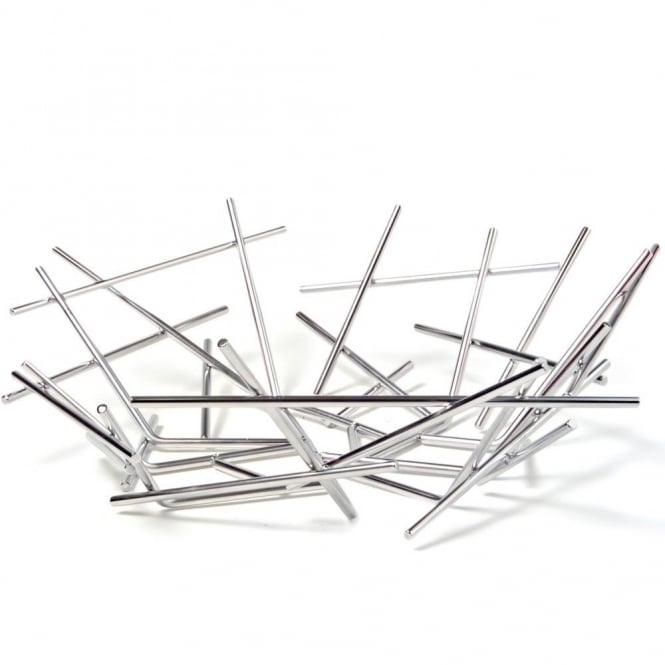 Alessi Blow Up Basket - Stainless Steel