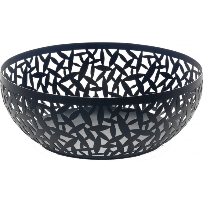 Alessi Cactus Fruit Bowl - Black - 29cm