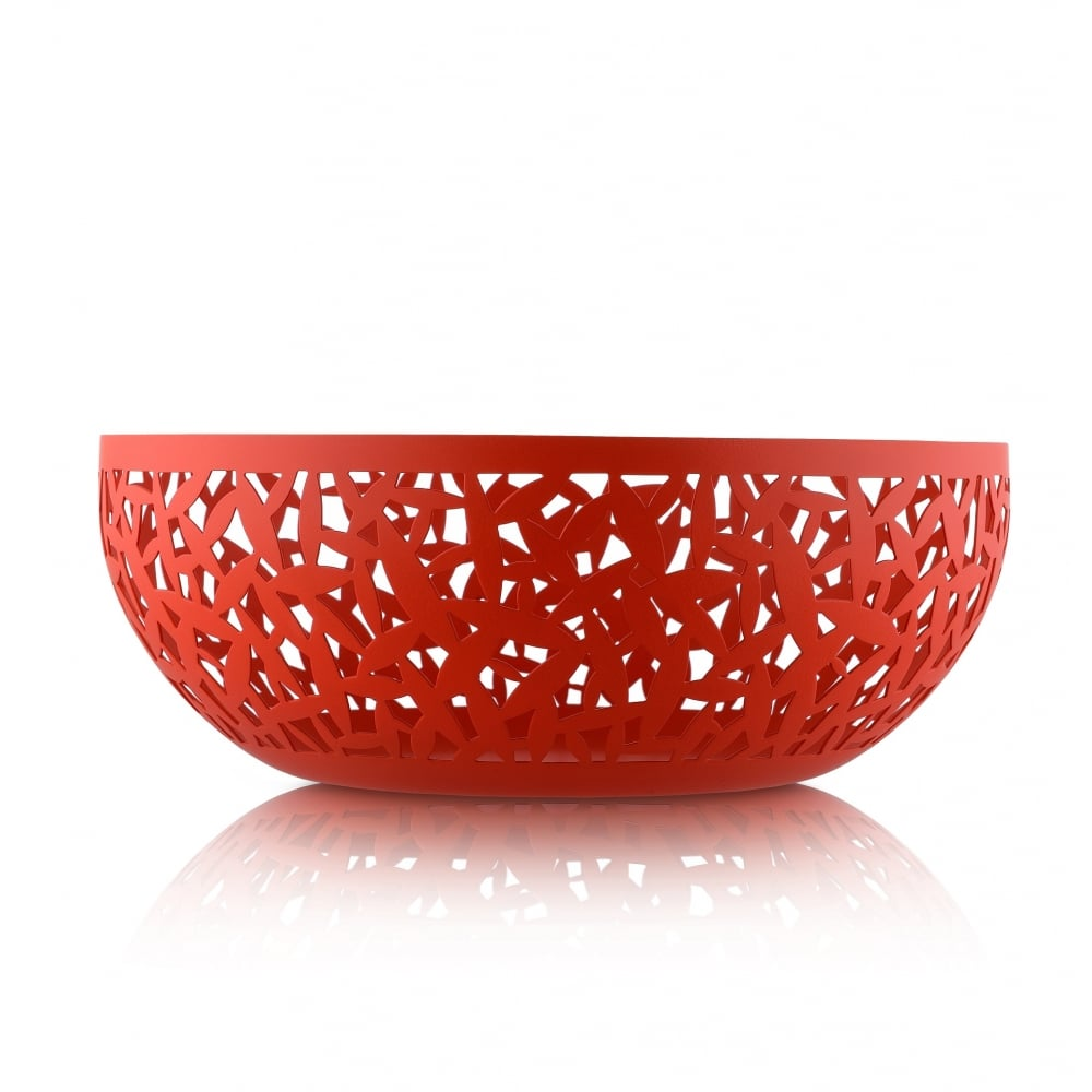 Alessi cactus fruit bowl super red black by design - Alessi fruit bowl ...