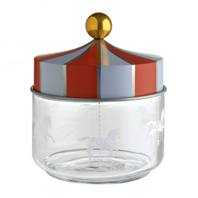 Alessi Circus - Glass Jar with Hermetic Lid
