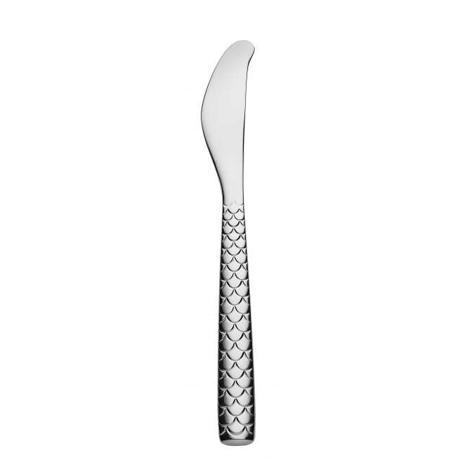 Alessi Colombina Fish Design Butter Knife - Set of 6