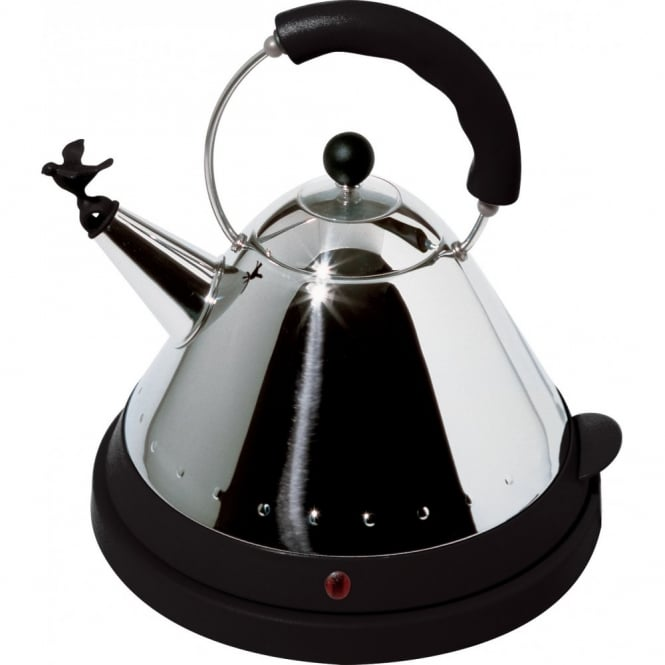 Alessi Electric Bird Kettle - Black