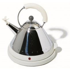 Electric Bird Kettle - White/Ivory