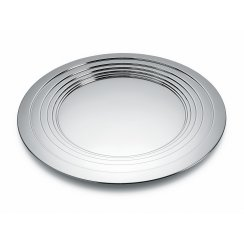 Le Cerchie Centrepiece/Tray - Stainless Steel