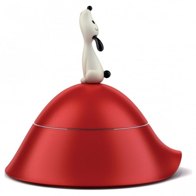 Alessi Lula Dog Bowl - Red