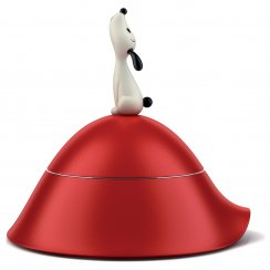 Lula Dog Bowl - Red