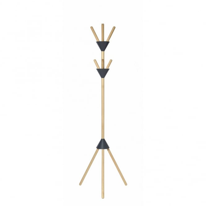 Alessi Pierrot Coat Stand - Dark Grey