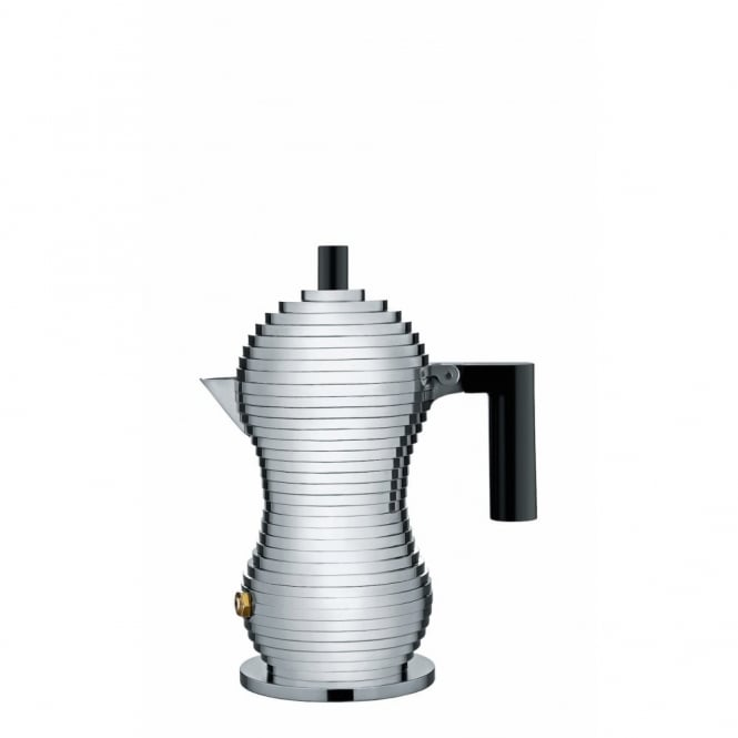 Alessi Pulcina Espresso Coffee Maker - 1 Cup - Black
