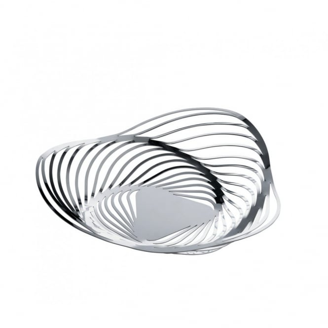 Alessi Trinity Fruit Bowl/Basket by Adam Cornish - Stainless Steel 33cm