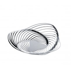 Trinity Fruit Bowl/Basket by Adam Cornish - Stainless Steel 33cm