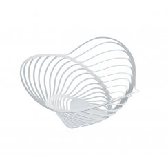 Trinity Steel Citrus Basket - White - Large