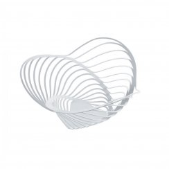 Trinity Steel Citrus Basket - White - Small