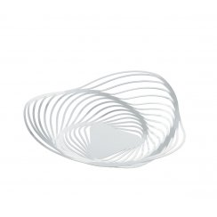 Trinity Steel Fruit Holder - White
