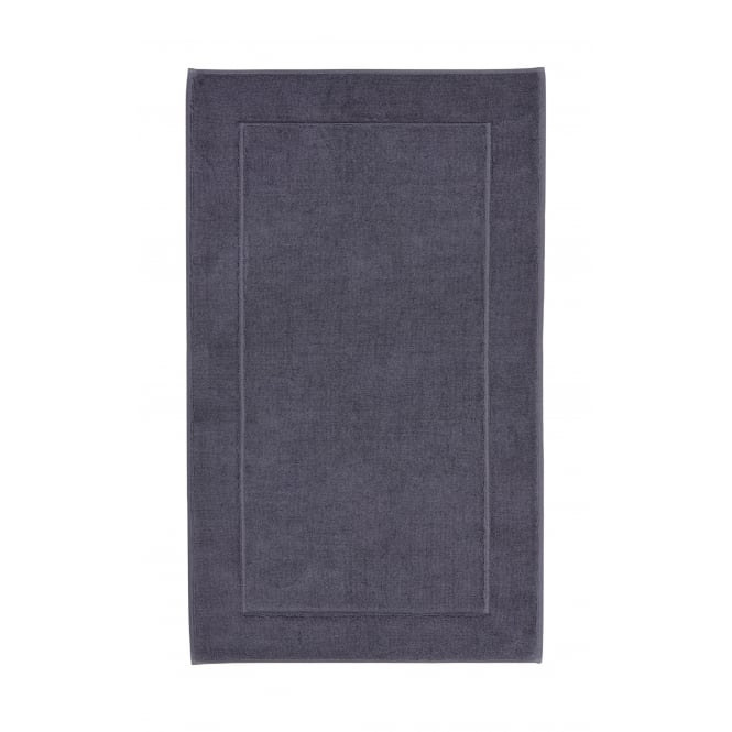 Aquanova London Egyptian Cotton Bath Mat - 60cm x 100cm - Graphite