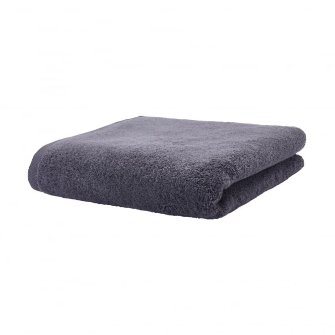 Aquanova London Egyptian Cotton Bath Towel - 70cm x 130cm - Graphite