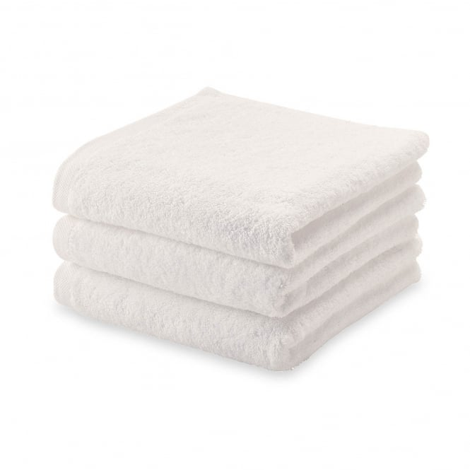 Aquanova London Egyptian Cotton Hand Towel - 55cm x 100cm - Ivory