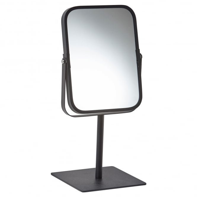 Aquanova Moon Freestanding Bathroom/Dressing Table Mirror - Black