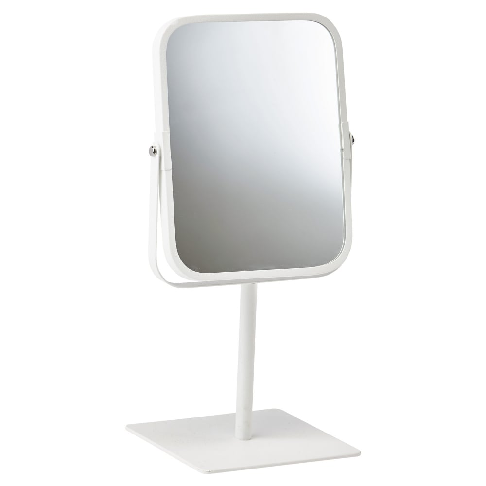 freestanding bathroom mirrors quanova bathroom dressing table mirror white black by 12913