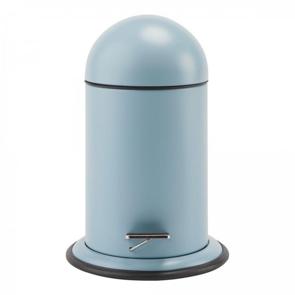 Aquanova Ona Bathroom Pedal Bin   Aquatic Blue   Black by Design