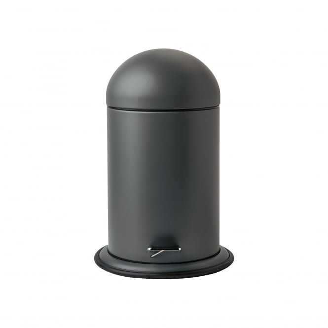 Aquanova Ona Bathroom Pedal Bin - Dark Grey