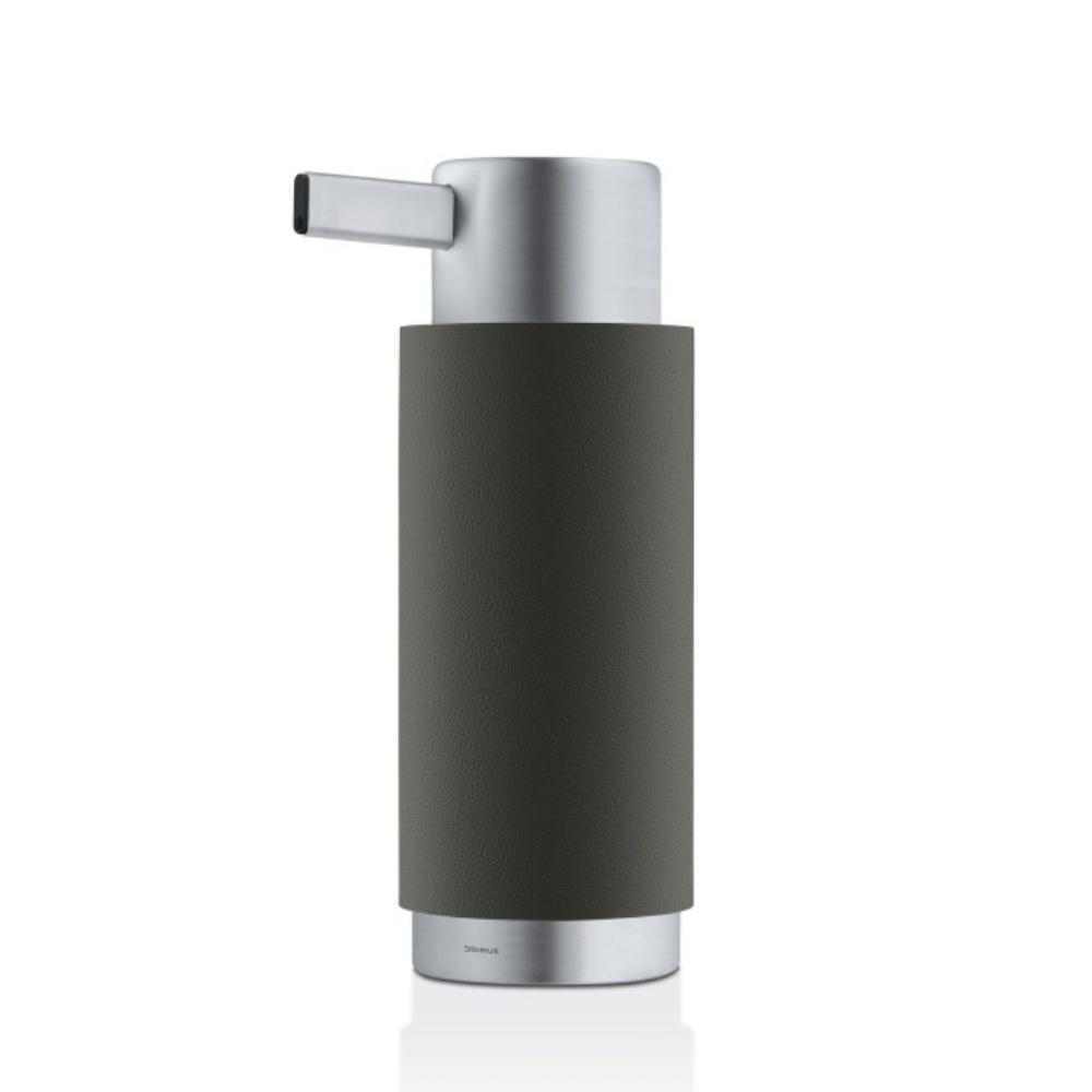 blomus ara soap dispenser anthracite black by design. Black Bedroom Furniture Sets. Home Design Ideas