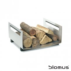 Chimo Stainless Steel Log Basket - Square