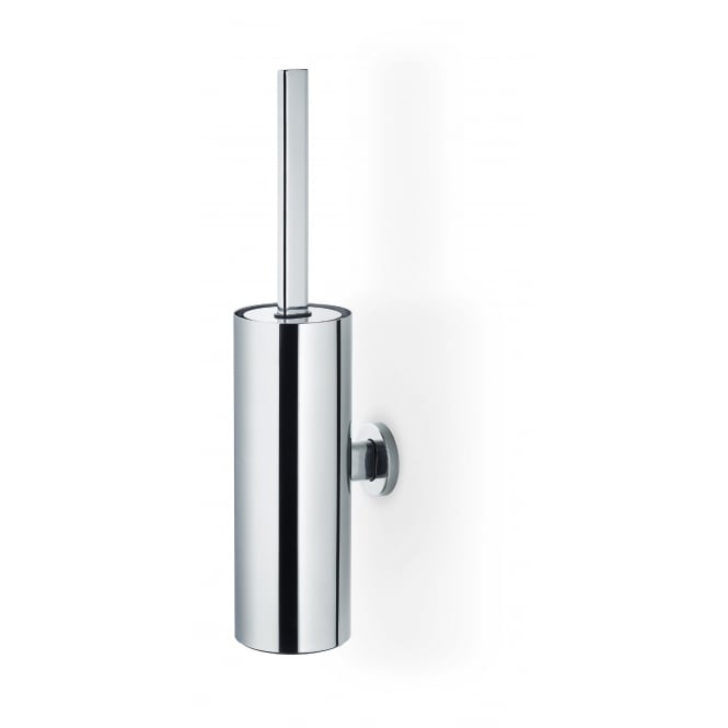 Blomus Floz design Areo Polished Stainless Steel Toilet Brush Set - Wall Mounted