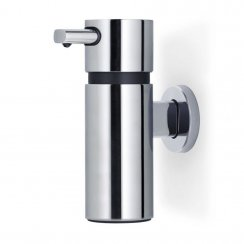 Floz design Wall Mounted Areo Soap Dispenser Polished Stainless Steel - Large 220ml