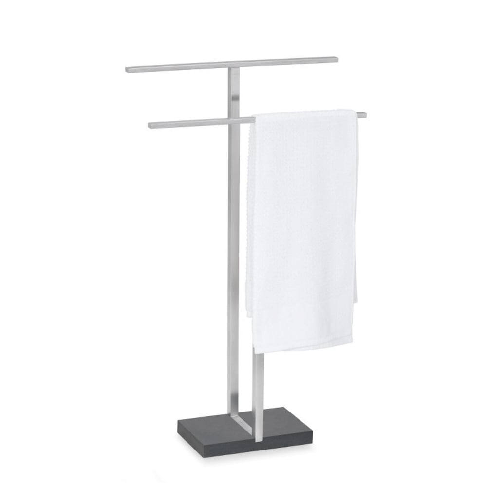 by image accessories black rack bath stand steel menoto bed blomus brushed floz matt stainless ladder towel design bathroom and