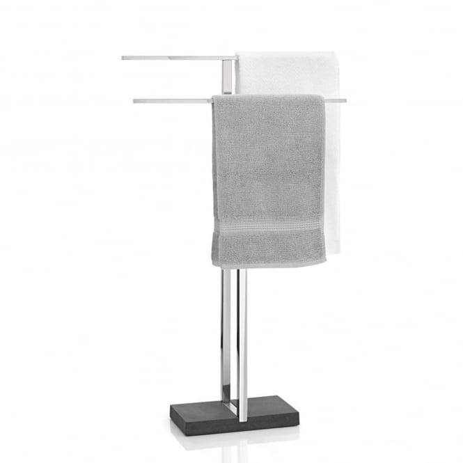 Blomus Menoto Floz Design Towel Rack/Stand - Polished Stainless Steel