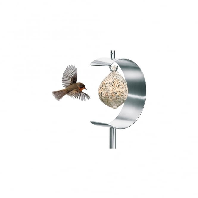 Blomus Nido Stainless Steel Bird Feeder - Half Moon