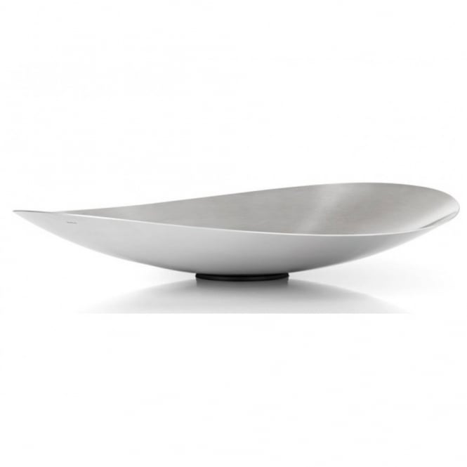Blomus Ondea Fruit Bowl Stainless Steel Black By Design