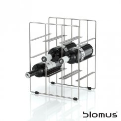 Pilare Stainless Steel Wine Rack - 9 Bottles