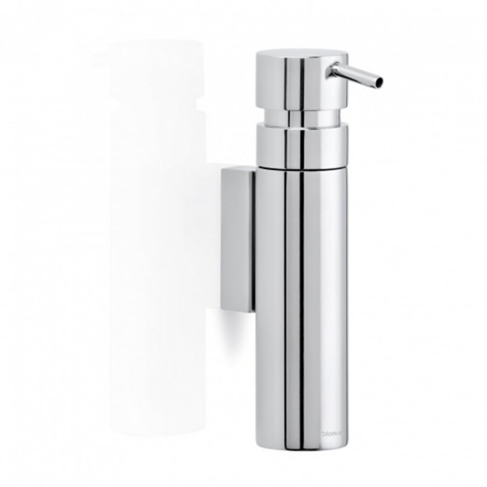 Blomus Nexio Wall Mounted Stainless Steel Soap Pump Black By Design