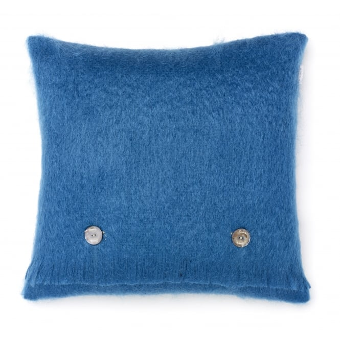 Bronte By Moon Luxury Mohair Cushion - Teal