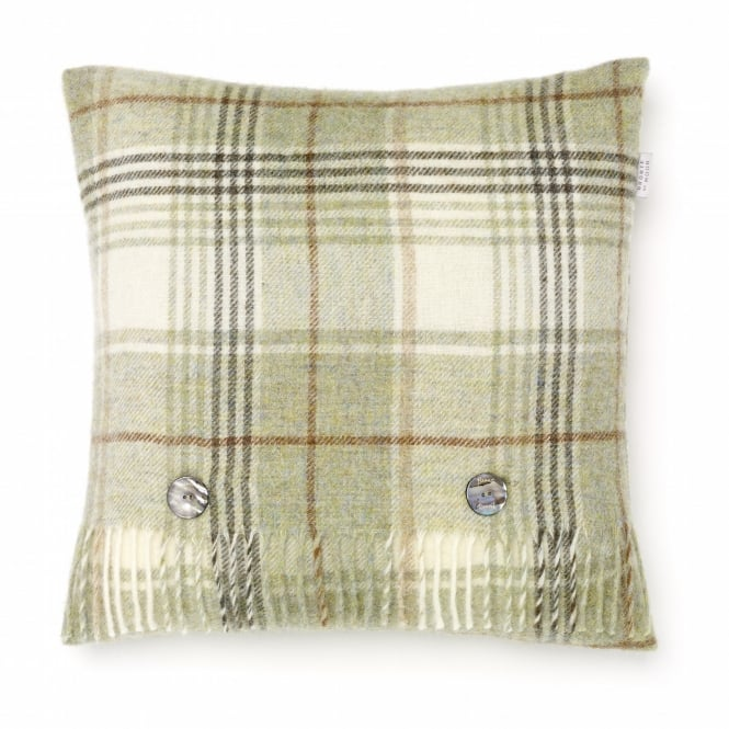 Bronte By Moon Shetland Cushion - Huntingtower Sage