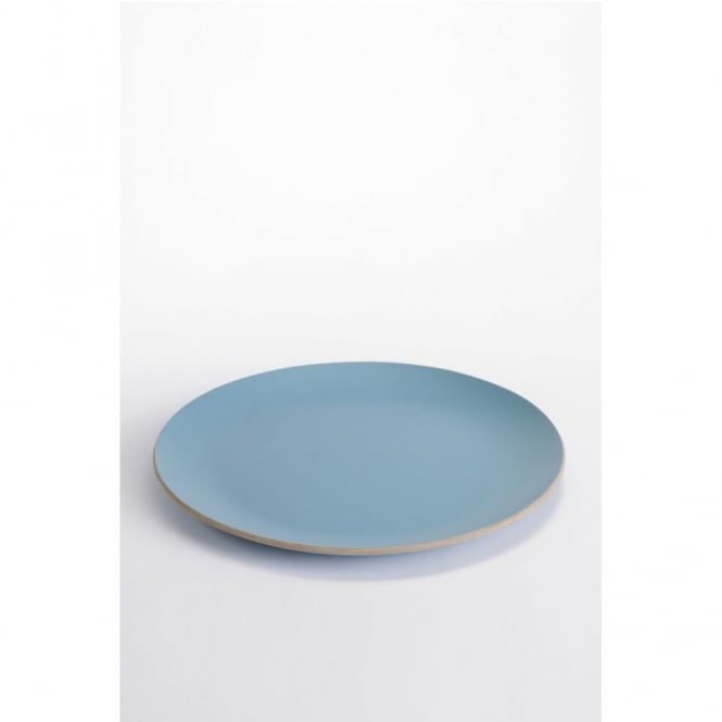 ComingB Big Round Tray/Magazine Coffee Tabletop - Blue