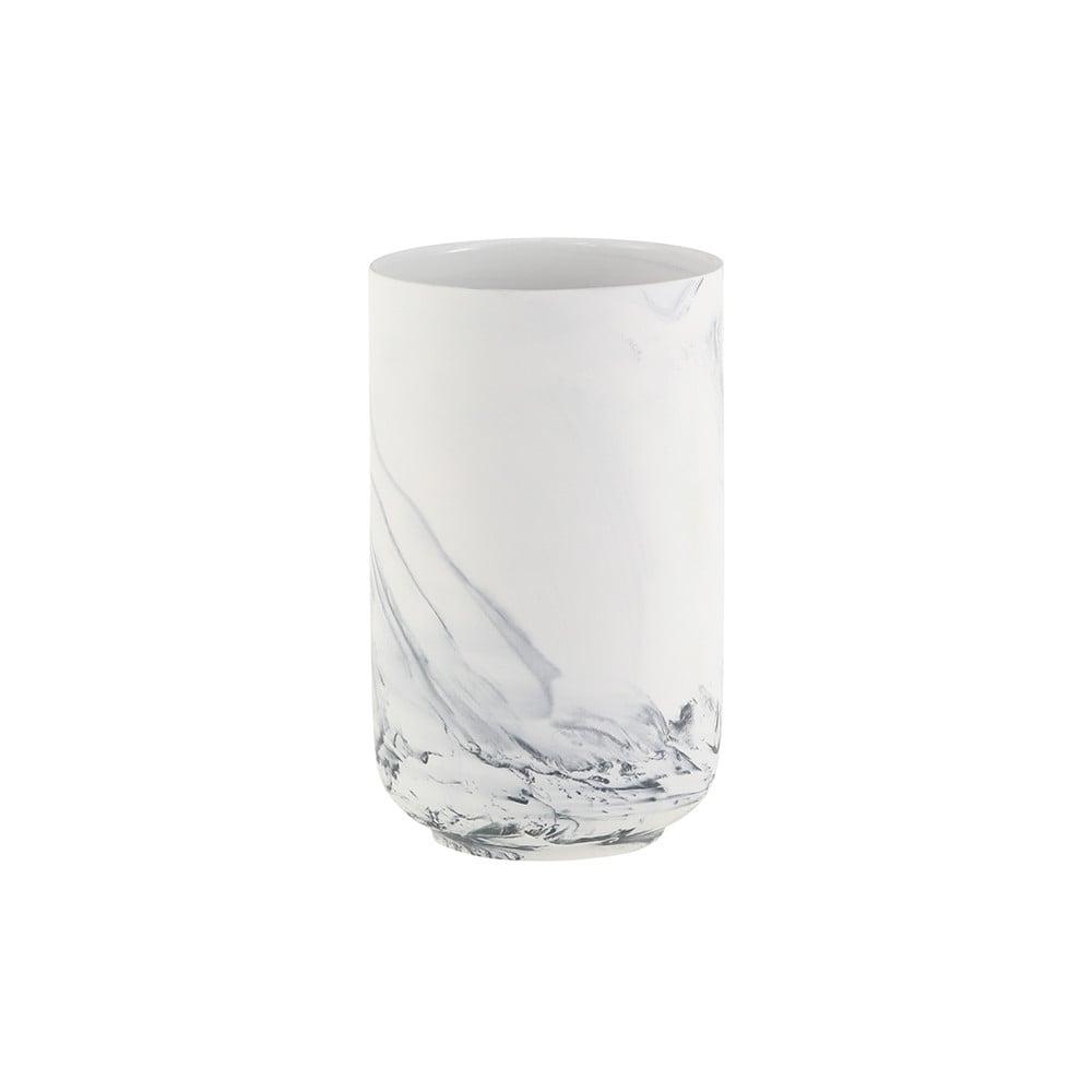 Coming B Marble Finish Vase 12cm X 20cm Black By Design