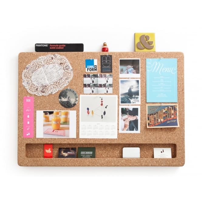CorkFrame Cork Message Board - Landscape
