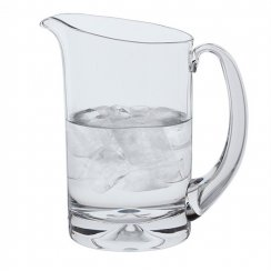 Dimple Crystal Water Jug - 50cl
