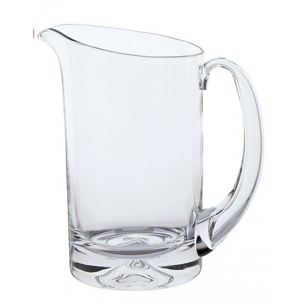 Dartington Crystal Dimple Water Jug Available From Black
