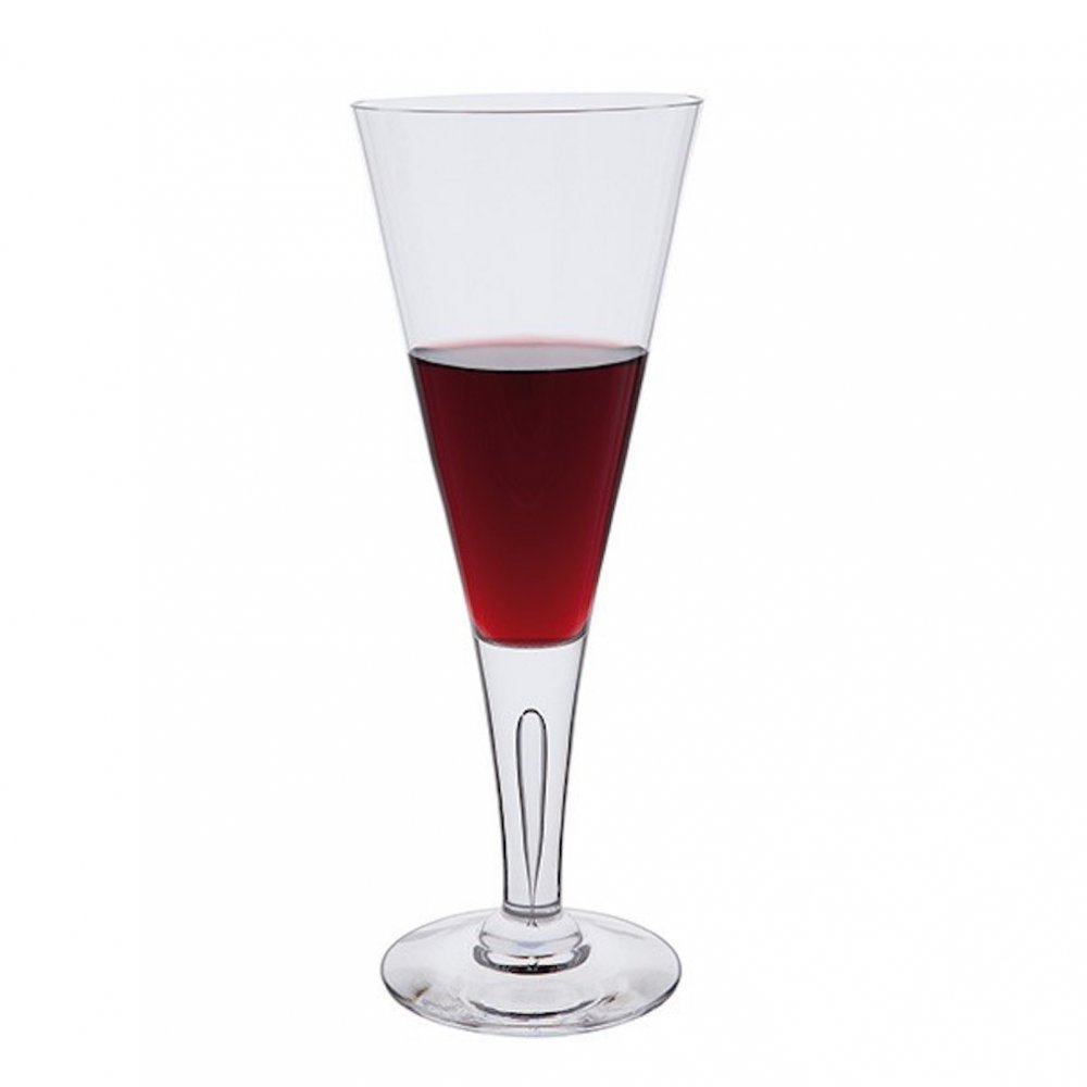 Red Kitchen Glassware: Dartington Crystal Sharon Large Wine Glasses